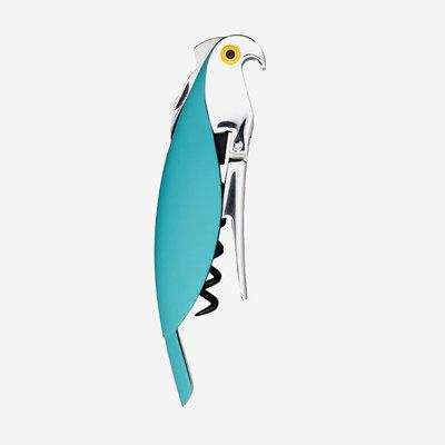 ALESSI Parrot Corkscrew - Turquoise