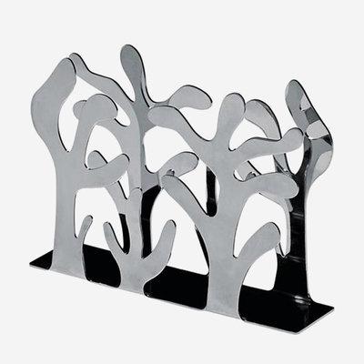 ALESSI Mediterraneo Napkin Holder - Silver