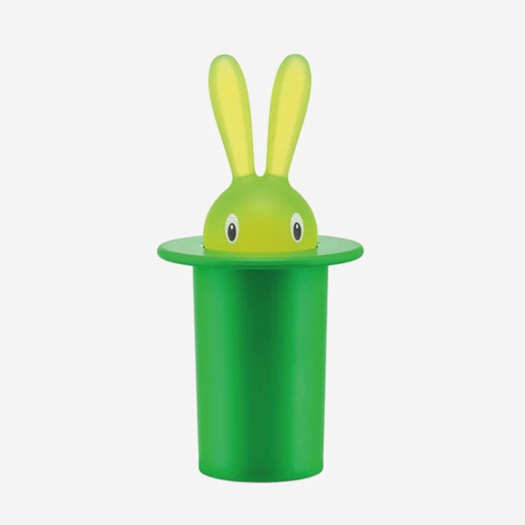 ALESSI  Magic Bunny Toothpick Holder - Green