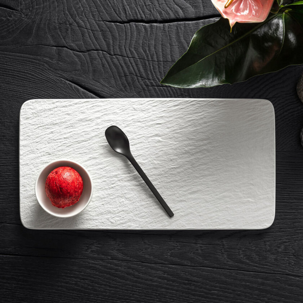 VILLEROY & BOCH Manufacture Rock Large Sushi Plate - White
