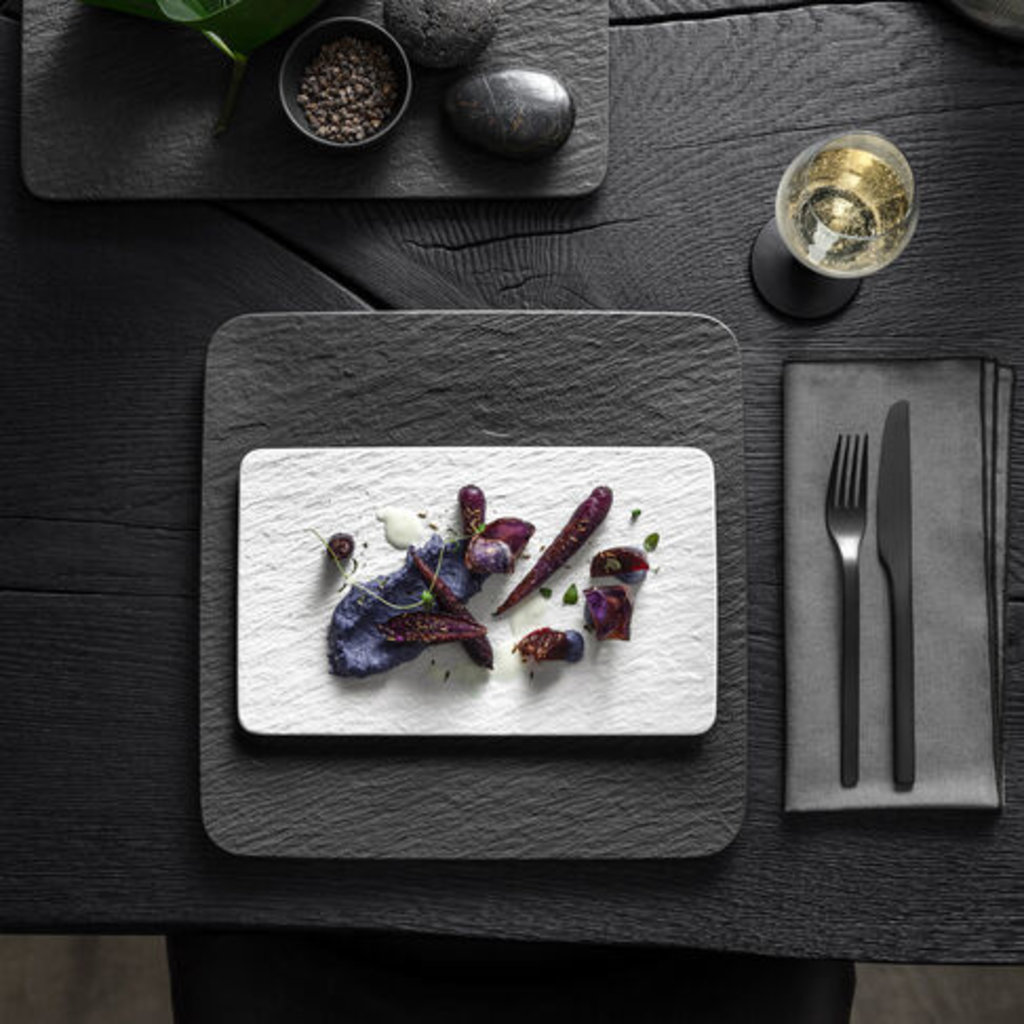 VILLEROY & BOCH Manufacture Rock Sushi Plate - White