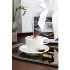 VILLEROY & BOCH Coffee Passion Latte Cup & Saucer Set of 2 - White