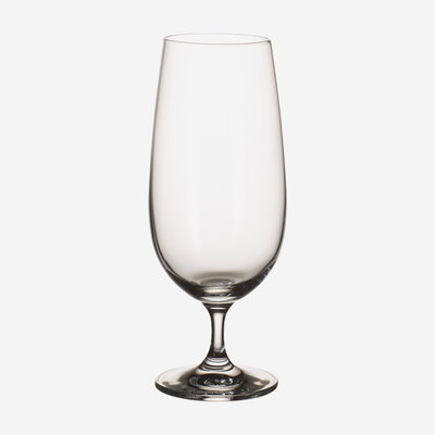VILLEROY & BOCH Entree Stemmed Beer Glass Set of 4 - Clear