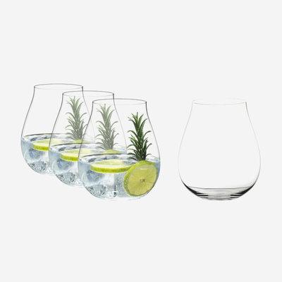 RIEDEL O Wine Tumbler Gin Set Of 4 - 4.88''