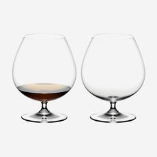 RIEDEL Vinum Brandy Set Of 2 - 6''