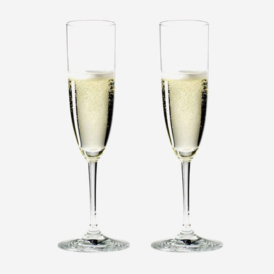 RIEDEL Ensemble de verres à champagne Vinum - transparent