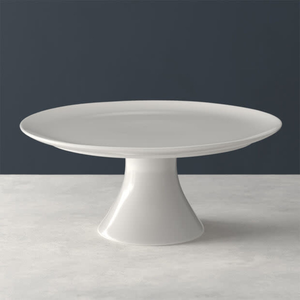 VILLEROY & BOCH For Me Footed Cake Stand - White