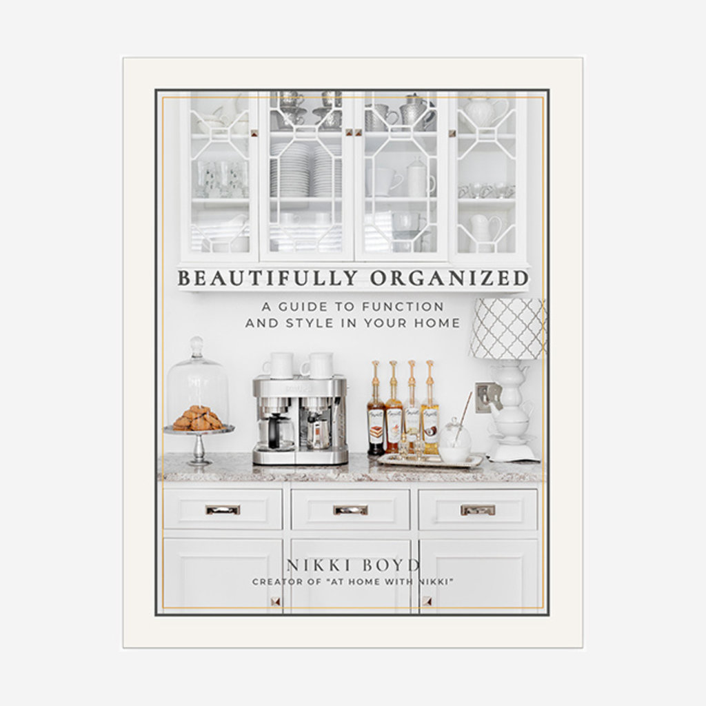 RIZZOLI Beautifully Organized: A Guide to Function and Style in your Home Book