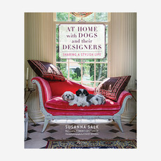 RIZZOLI At Home With Dogs And Their Designers Book