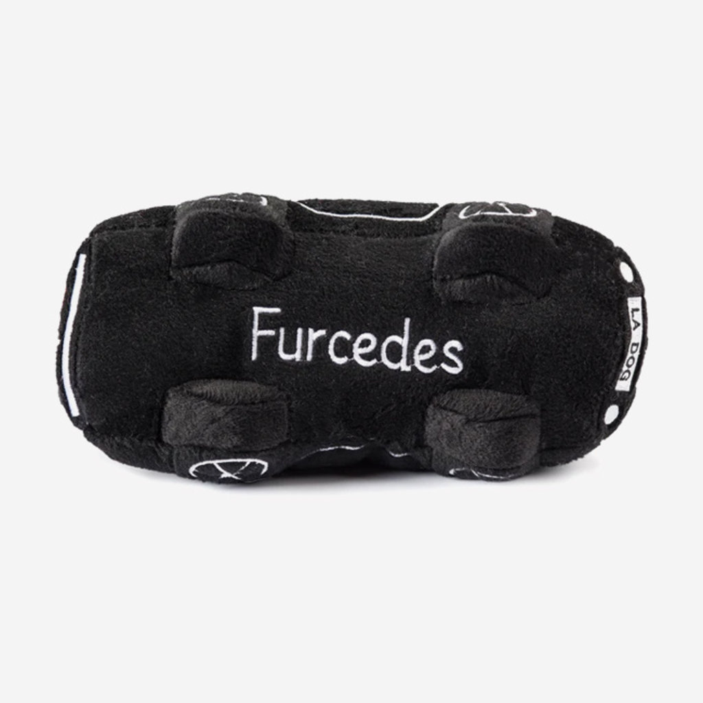 HAUTE DIGGITY DOG Furcedes Car Dog Toy - Black
