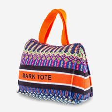 HAUTE DIGGITY DOG Dogior Bark Tote Dog Toy - Orange