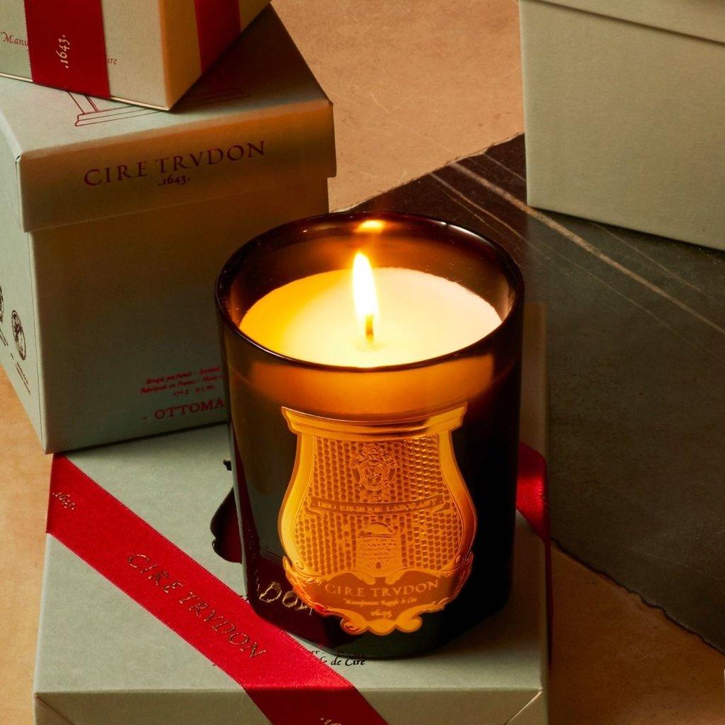 CIRE TRUDON Bougie Parfumée Arômes Méditerranéens Cyrnos Classique - 270g