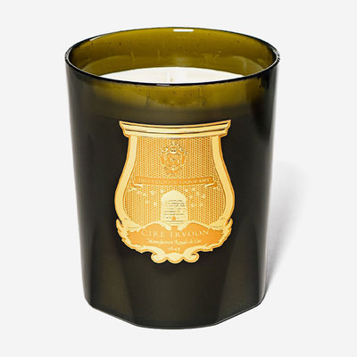 CIRE TRUDON Grande Bougie Ernesto au Cuir et Tabac - 3 kg