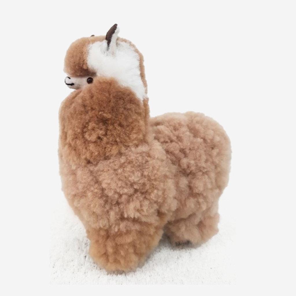 Large Alpaca Plush Toy - Brown