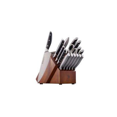 ZWILLING Henckels Forged 17 Piece Knife Block Set BLACK