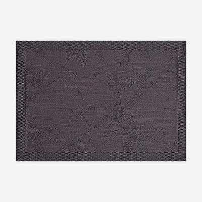 LE JACQUARD FRANCAIS Slow Life Maxi Coated Placemat - Grey