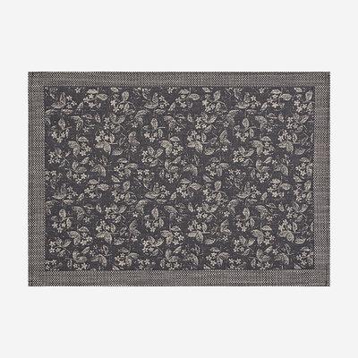 LE JACQUARD FRANCAIS Slow Life Mini Coated Placemat - Grey Print