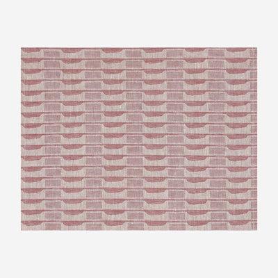 LE JACQUARD FRANCAIS Casual Ethnique Coated Placemat - Pink