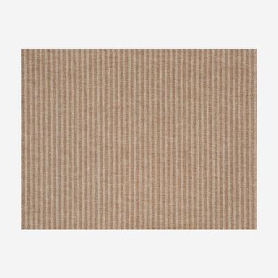 LE JACQUARD FRANCAIS Casual Stripes Coated Placemat - Brown