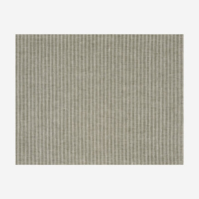 LE JACQUARD FRANCAIS Casual Stripes Coated Placemat - Green