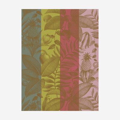 LE JACQUARD FRANCAIS Fruits Exotiques Tea Towel - Pink