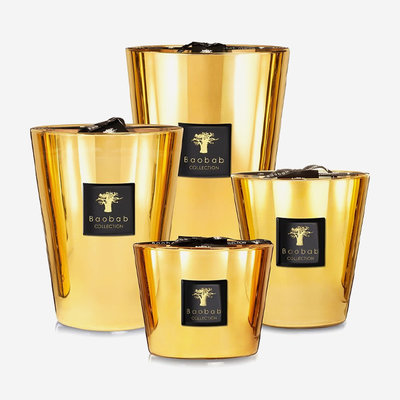 BAOBAB COLLECTION Bougie parfumée Les Exclusives Aurum
