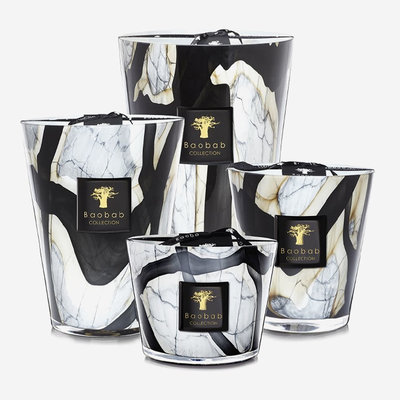 BAOBAB COLLECTION Bougie parfumée Stones Marble