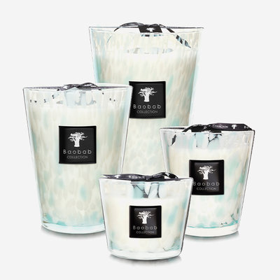 BAOBAB COLLECTION Sapphire Pearls Scented Candle