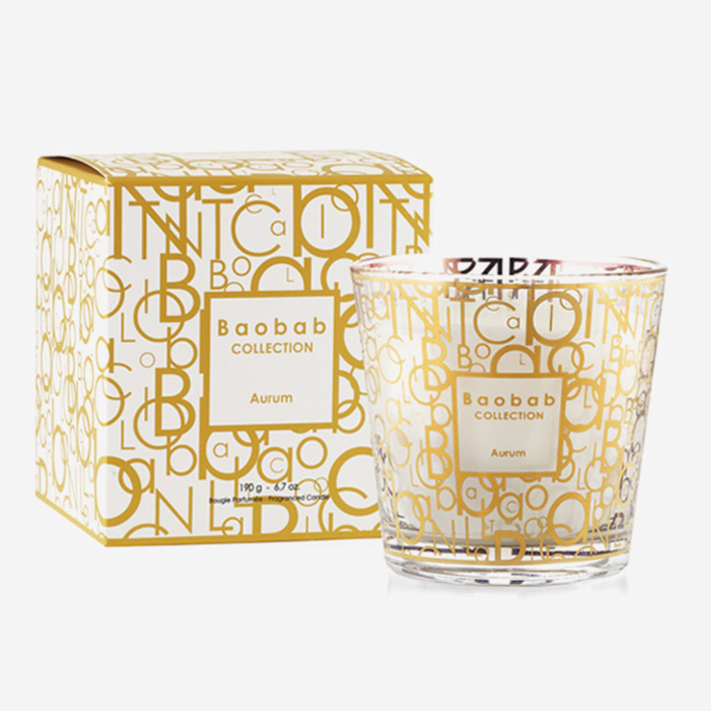 BAOBAB COLLECTION My First Baobab Aurum Scented Candle MAX 8
