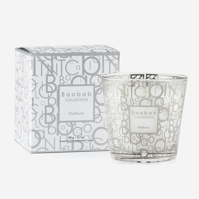 BAOBAB COLLECTION My First Baobab Platinum Scented Candle MAX 8