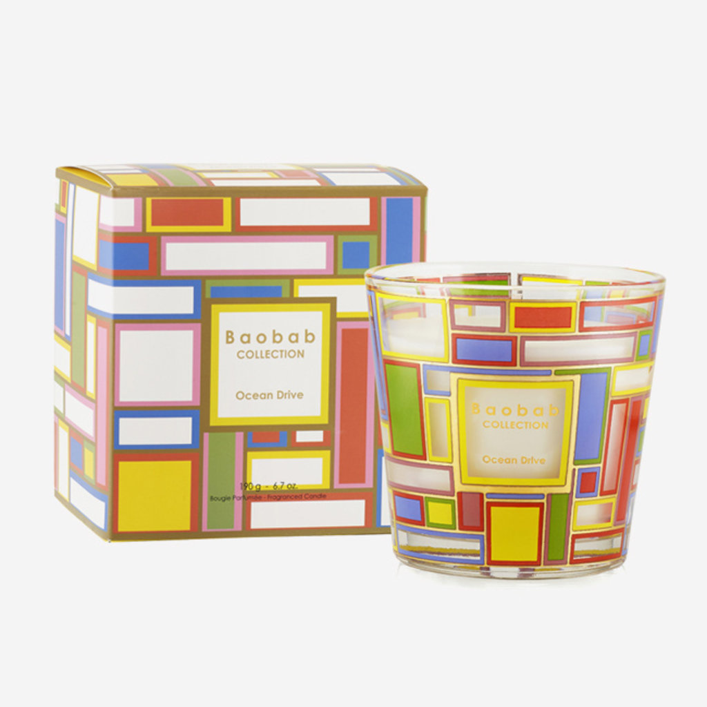 BAOBAB COLLECTION My First Baobab Ocean Drive Scented Candle MAX 8