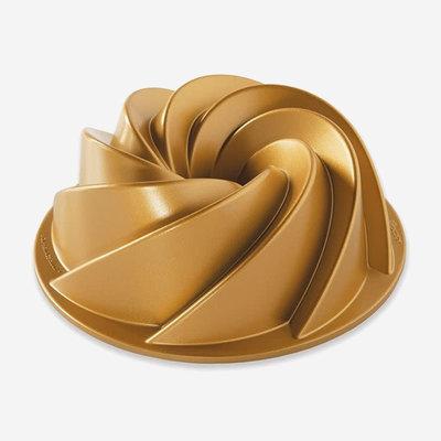 NORDICWARE Heritage Bundt Pan Gold 6 Cups
