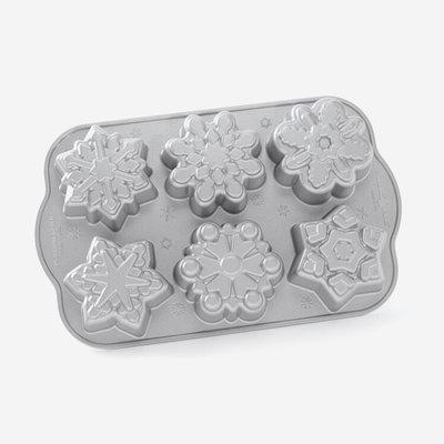 NORDICWARE Snowflake Cakelet Pan