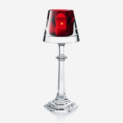 BACCARAT Harcourt My Fire Candlestick Red