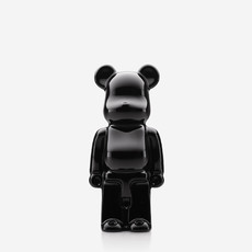 BACCARAT Bearbrick Standing Black 140