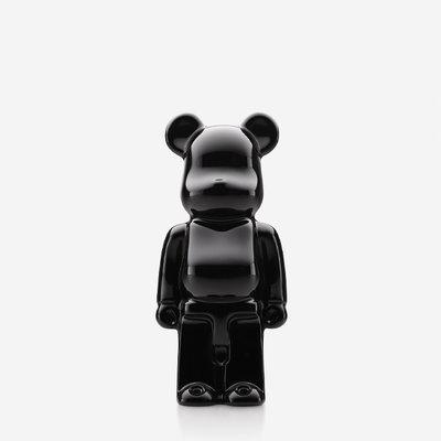 BACCARAT Bearbrick Debout Noir 140