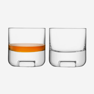 LSA Cask Whisky Tumbler - Clear