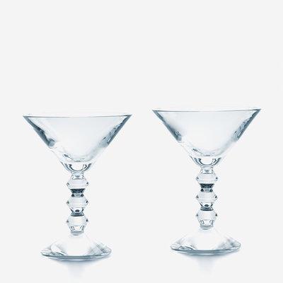 BACCARAT Vega Martini Clear Set/2
