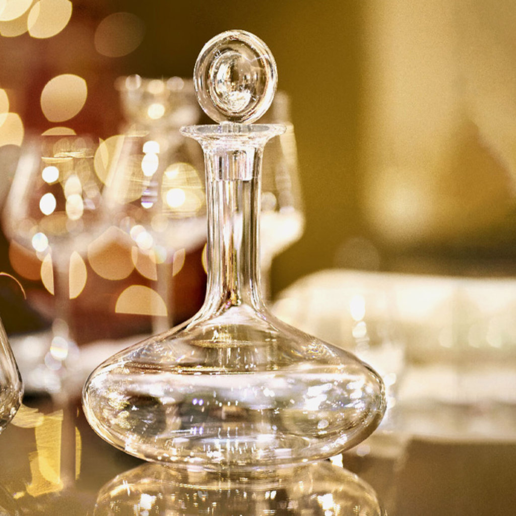 BACCARAT Oenology Decanter For Young Wines 9 7/8'' - 52 3/4 Oz