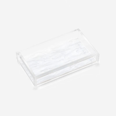 JR WILLIAM Hand/Guest Towel Acrylic Tray - Hudson Pearl