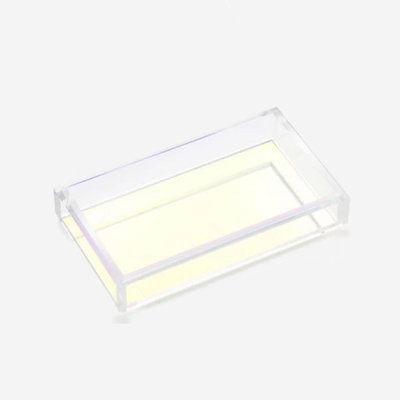 JR WILLIAM Hand/Guest Towel Acrylic Tray - Iridescent