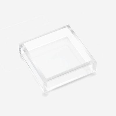 JR WILLIAM Cocktail Napkin Acrylic Tray - Crystal Clear
