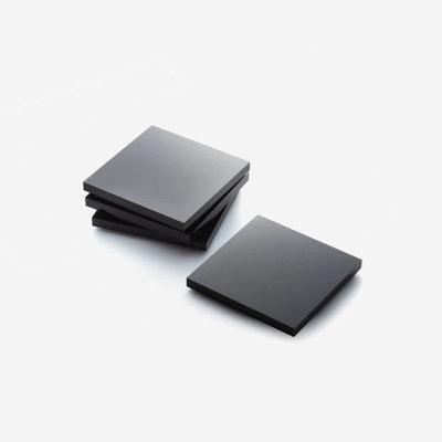 JR WILLIAM Acrylic Coasters (Set of 4) - Soho Black