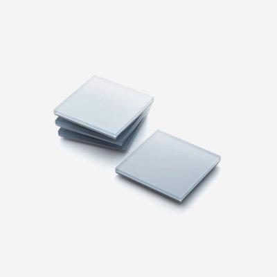 JR WILLIAM Acrylic Coasters (Set of 4) - Ice Grey