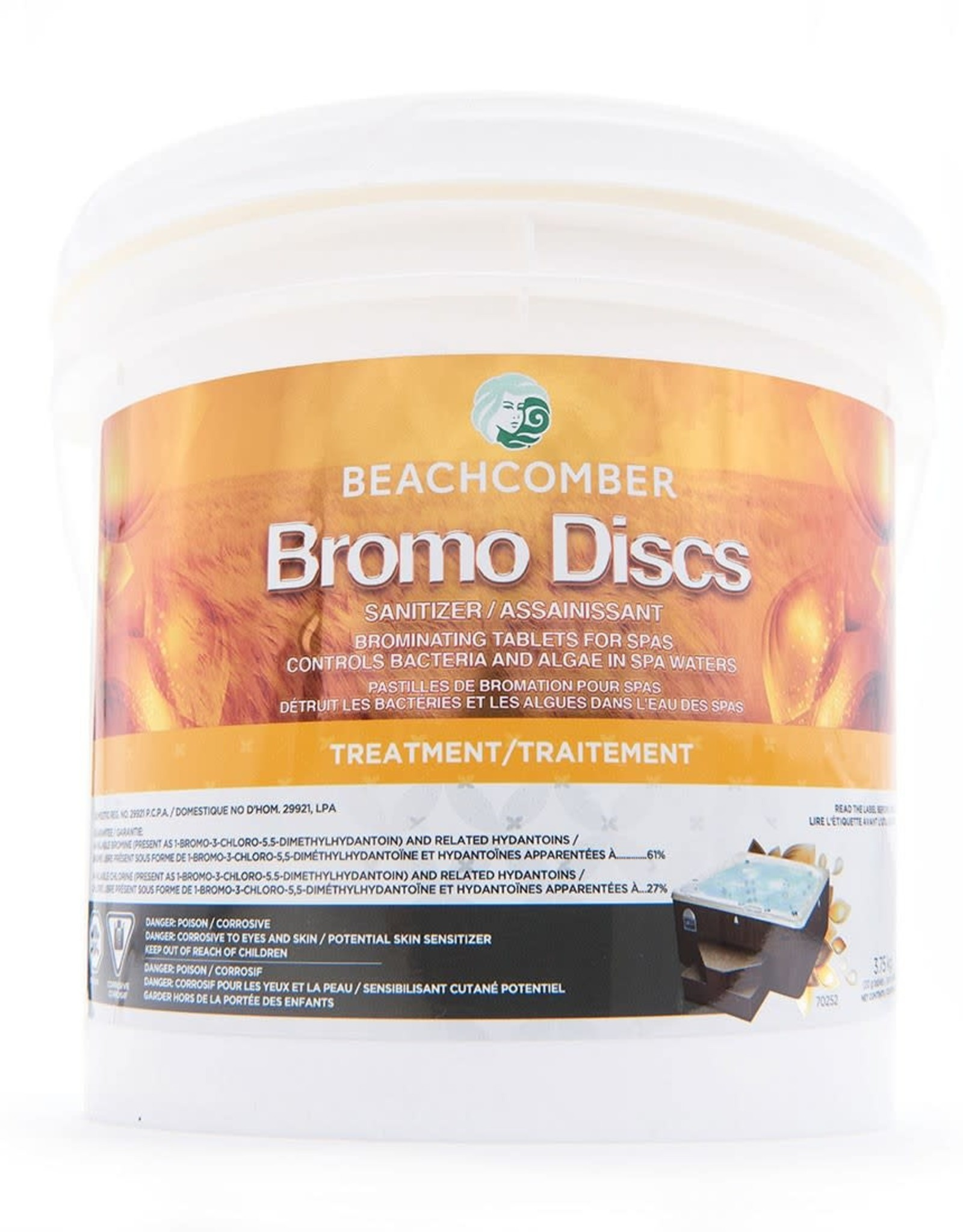 BEACHCOMBER BEACHCOMBER Bromo Discs (3.75kg)