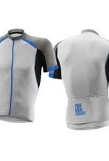 Giant CENTRO S/S JERSEY GREY/BLK/BLUE M