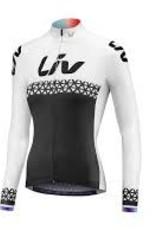 Liv BELIV JERSEY - Long Sleeve White/Black S