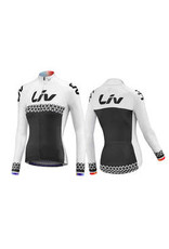 Liv BELIV JERSEY - Long Sleeve White/Black XL 850001925