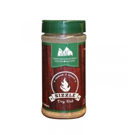 GMG GMG DRY RUB (SIZZLE) If it is meant to sizzle when you cook it, add this! You will love it!