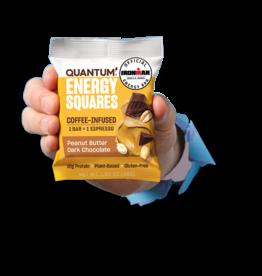QUANTUM QUANTUM SQUARES BARS DARK CHOCOLATE / PEANUT BUTTER